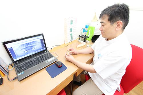 長谷川歯科医院 カウンセリング室